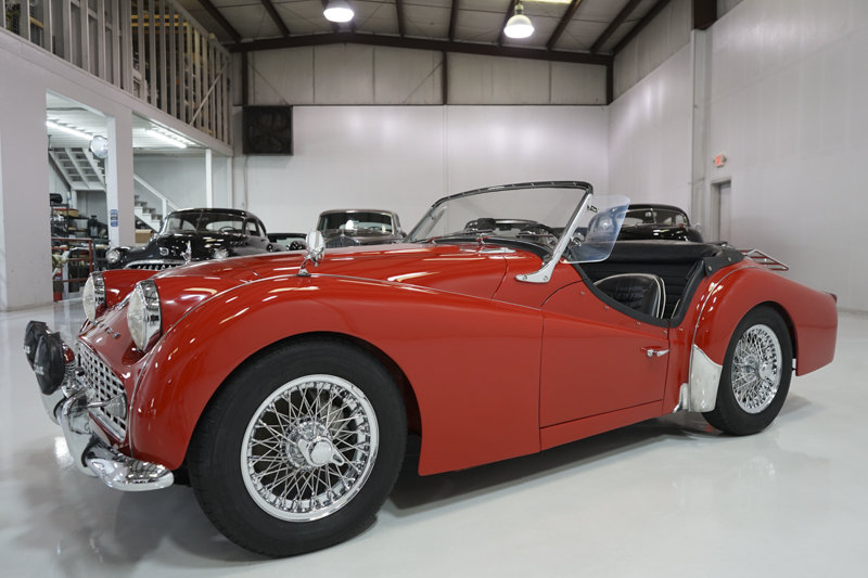 1960 Triumph TR3A Roadster For Sale (picture 1 of 6)