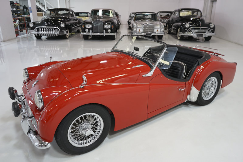 1960 Triumph TR3A Roadster For Sale (picture 3 of 6)