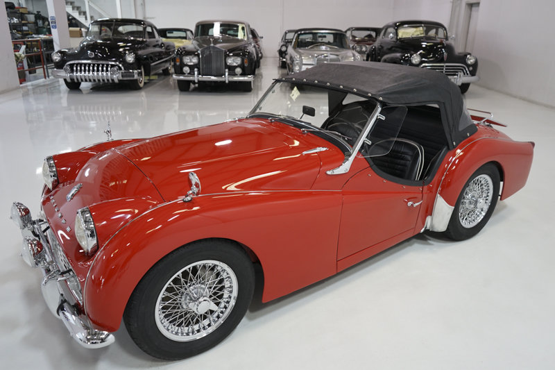 1960 Triumph TR3A Roadster For Sale (picture 4 of 6)