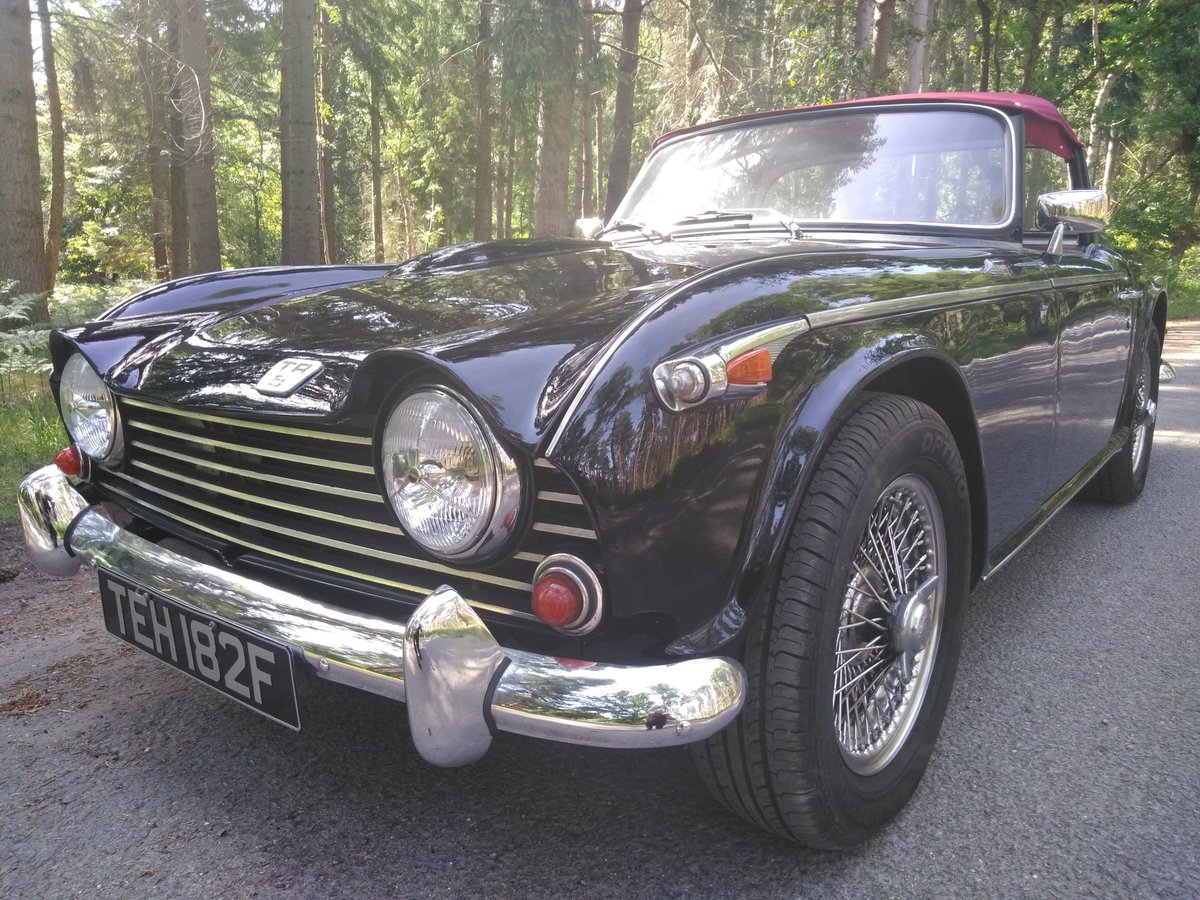 1968 Triumph TR5 - Deposit Taken  SOLD (picture 1 of 5)