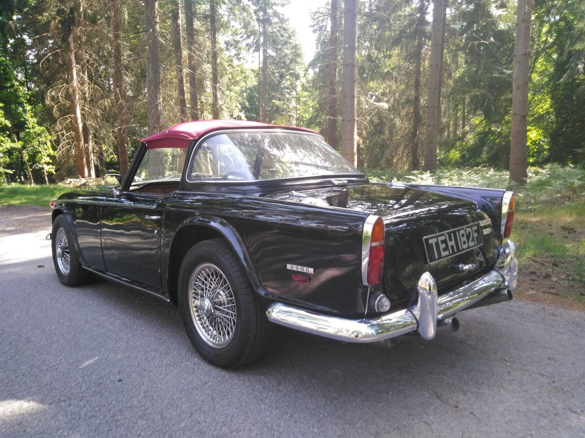 1968 Triumph TR5 - Deposit Taken  SOLD (picture 3 of 5)