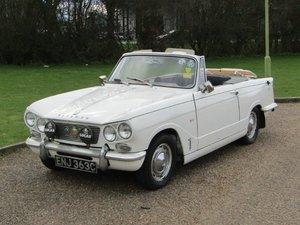 1963  Triumph Vitesse 6 Convertible at ACA 20th June