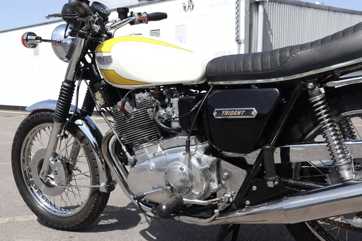 1975 Triumph T160 Trident 750cc Matching Numbers  SOLD (picture 6 of 6)