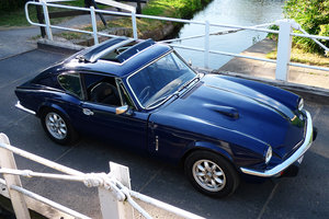 Triumph gt6+ with overdrive - superb little beast