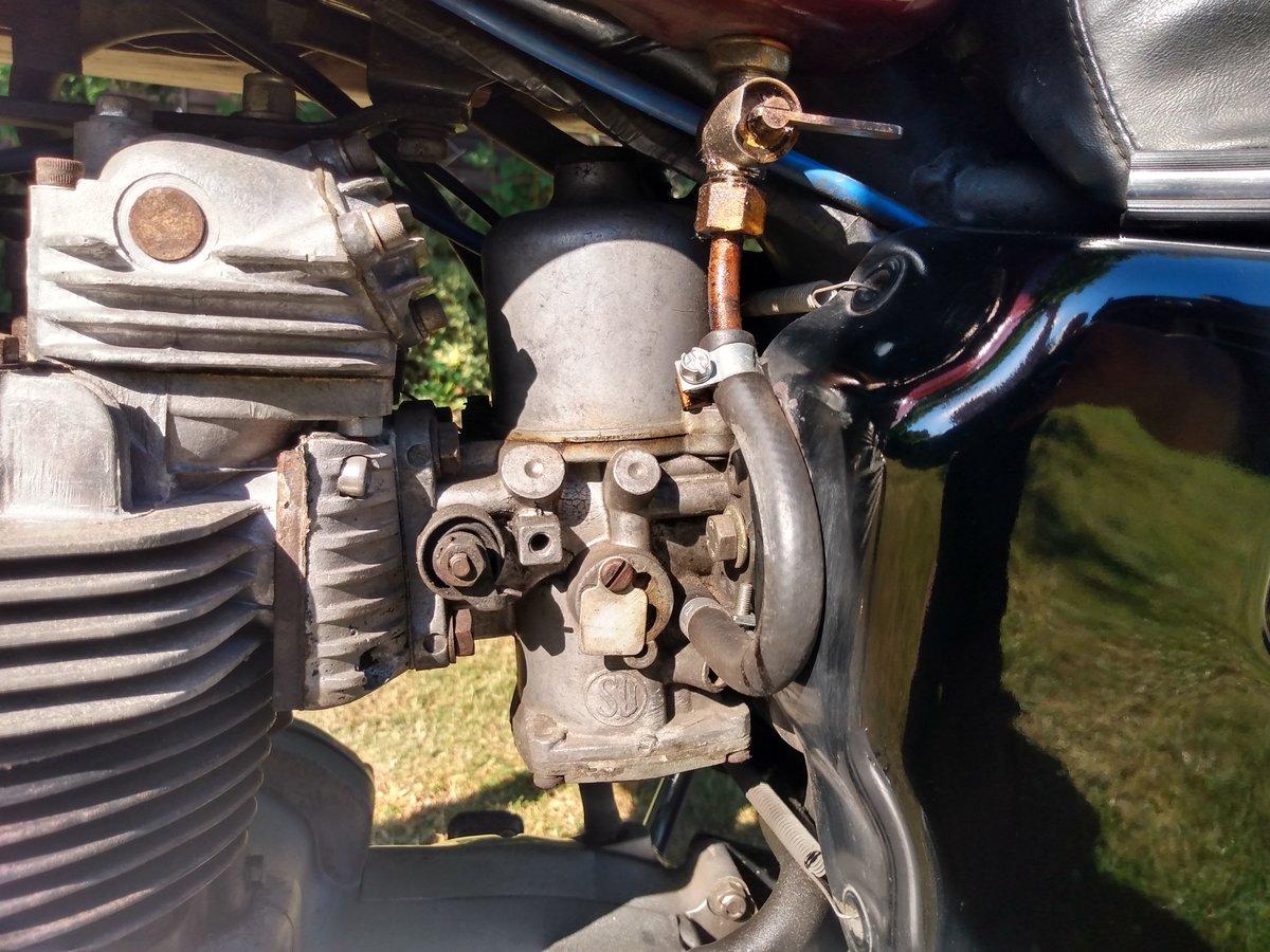 Triumph T140 E Bonneville  Original UK bike 1979  For Sale (picture 5 of 6)