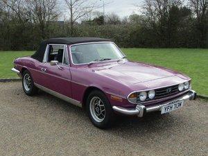 1974 Triumph Stag 3.0 NO RESERVE at ACA 20th June  For Sale