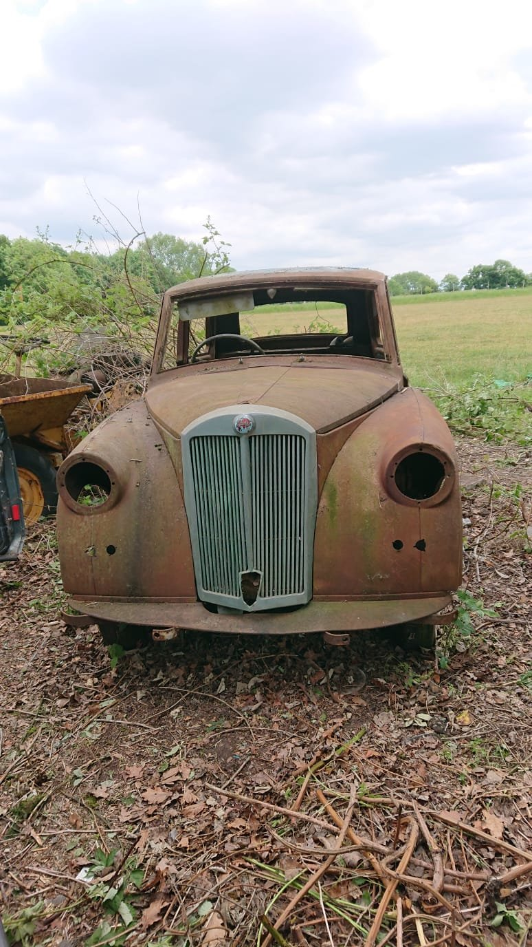 1952 Triumph Mayflower Barn Find SOLD (picture 1 of 6)