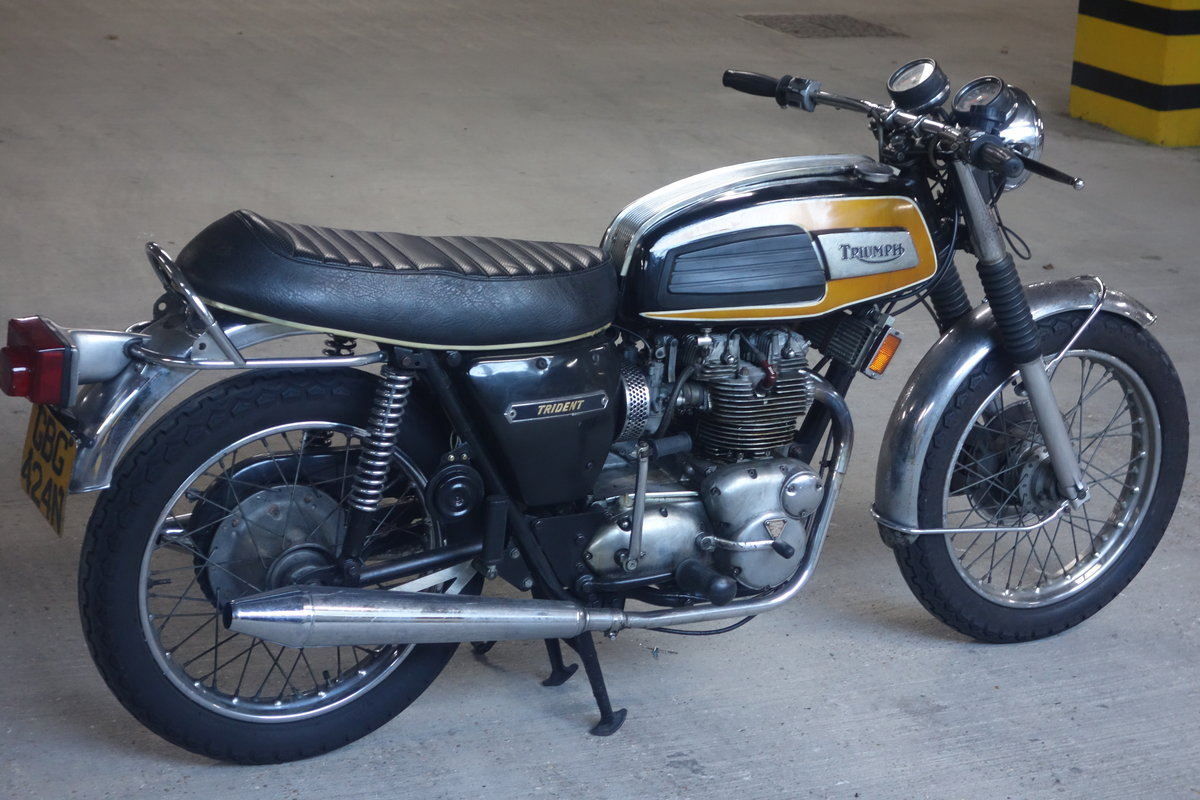 1974 Triumph Trident T150V  SOLD (picture 3 of 6)