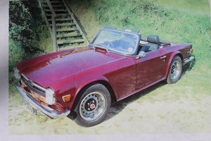 1971 Triumph TR6 PI original rhd with overdrive