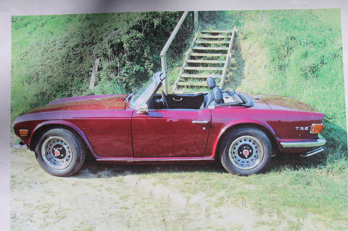 1971 Triumph TR6 PI original rhd with overdrive For Sale (picture 2 of 4)