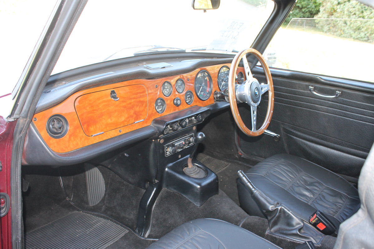 1971 Triumph TR6 PI original rhd with overdrive For Sale (picture 4 of 4)