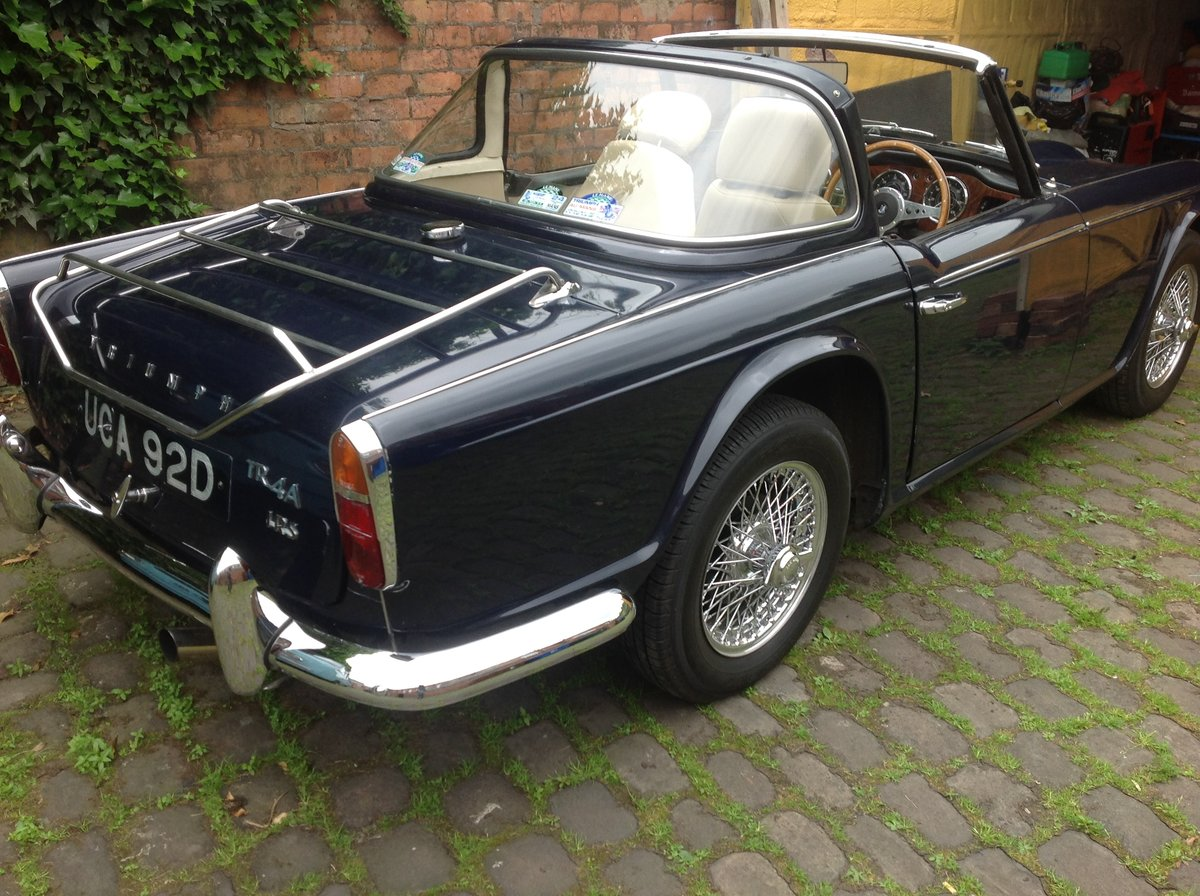 1966 Triumph TR4A IRS For Sale (picture 3 of 6)