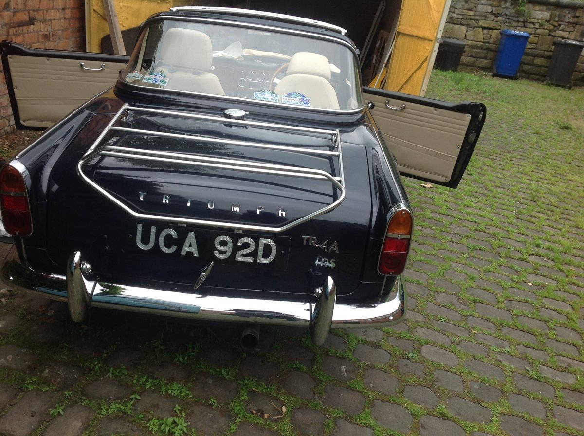 1966 Triumph TR4A IRS For Sale (picture 6 of 6)