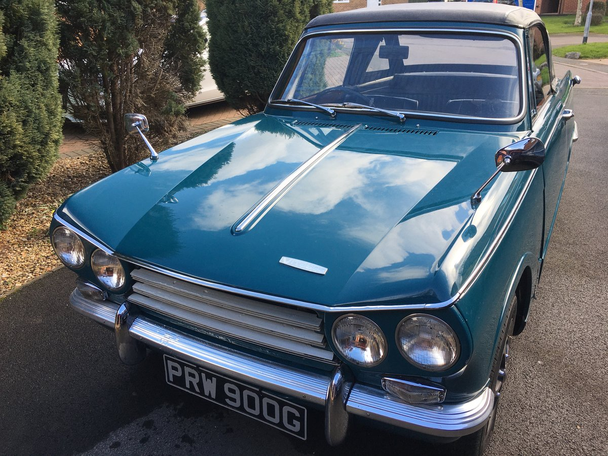 1969 Triumph Vitesse MkII Convertible with overdrive SOLD (picture 1 of 5)