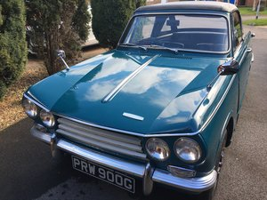 Triumph Vitesse MkII Convertible with overdrive