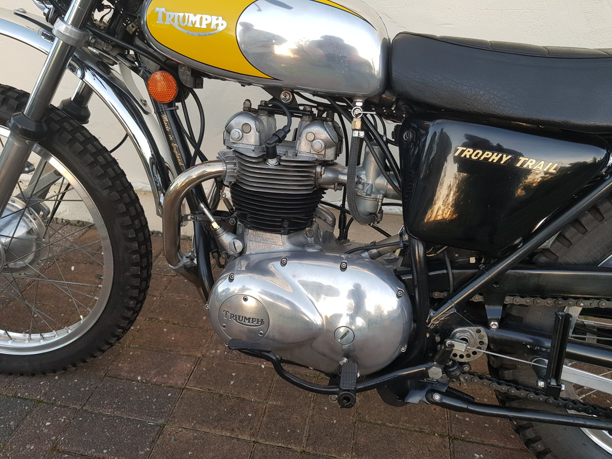 1972 Triumph TR5 Trophy Trail  SOLD (picture 3 of 6)