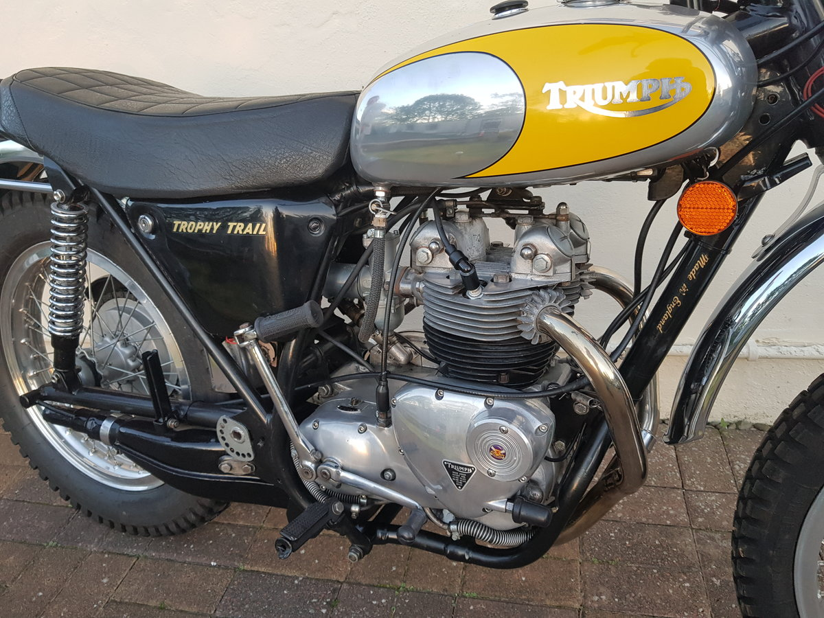 1972 Triumph TR5 Trophy Trail  SOLD (picture 4 of 6)