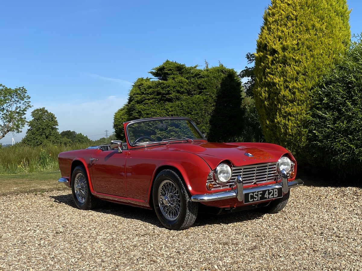 1964 Triumph TR4. Beautifully Restored SOLD (picture 1 of 6)