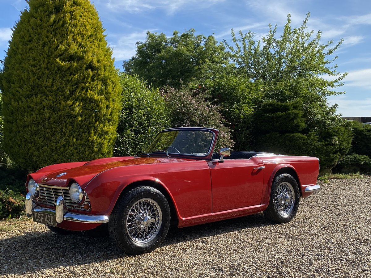 1964 Triumph TR4. Beautifully Restored SOLD (picture 2 of 6)