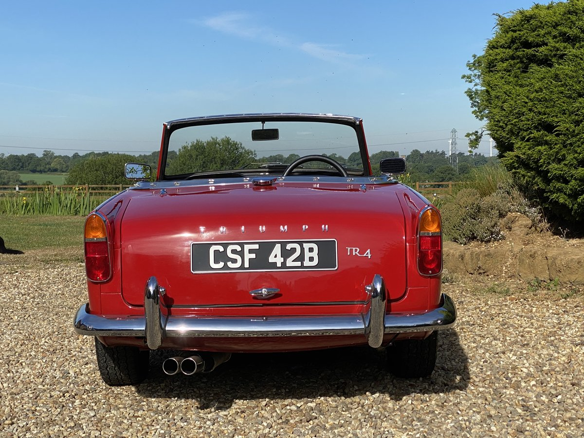 1964 Triumph TR4. Beautifully Restored SOLD (picture 3 of 6)