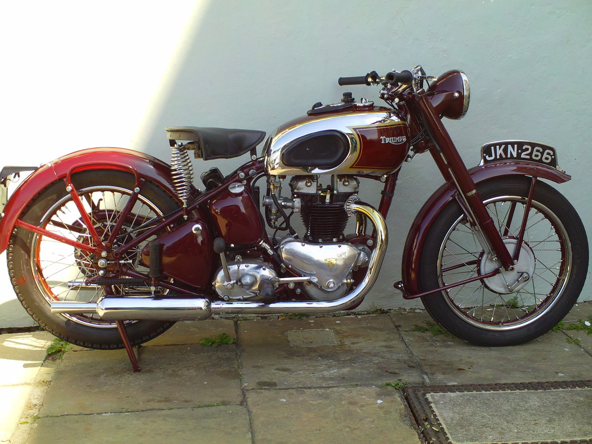 1947 TRIUMPH SPEED TWIN 5T For Sale (picture 1 of 6)