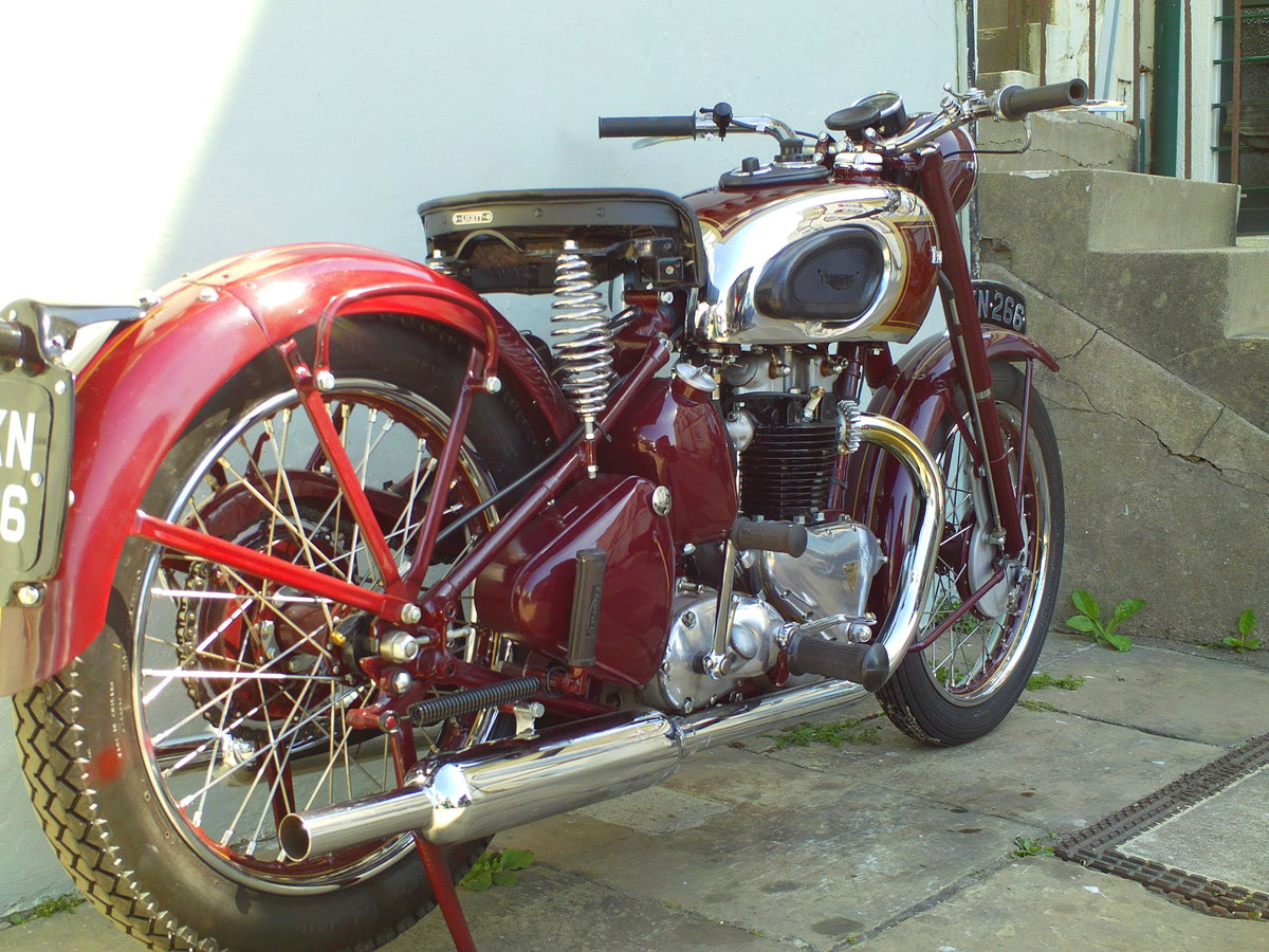 1947 TRIUMPH SPEED TWIN 5T For Sale (picture 2 of 6)