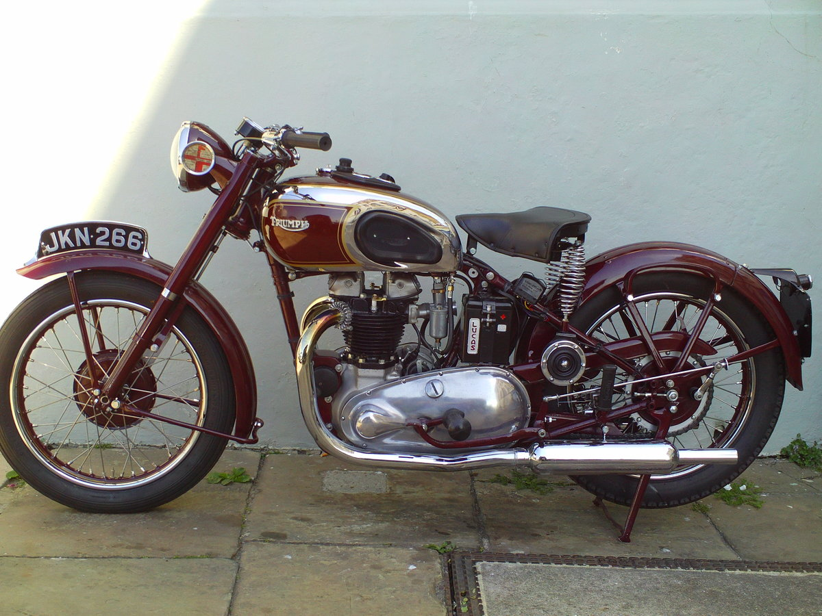 1947 TRIUMPH SPEED TWIN 5T For Sale (picture 3 of 6)