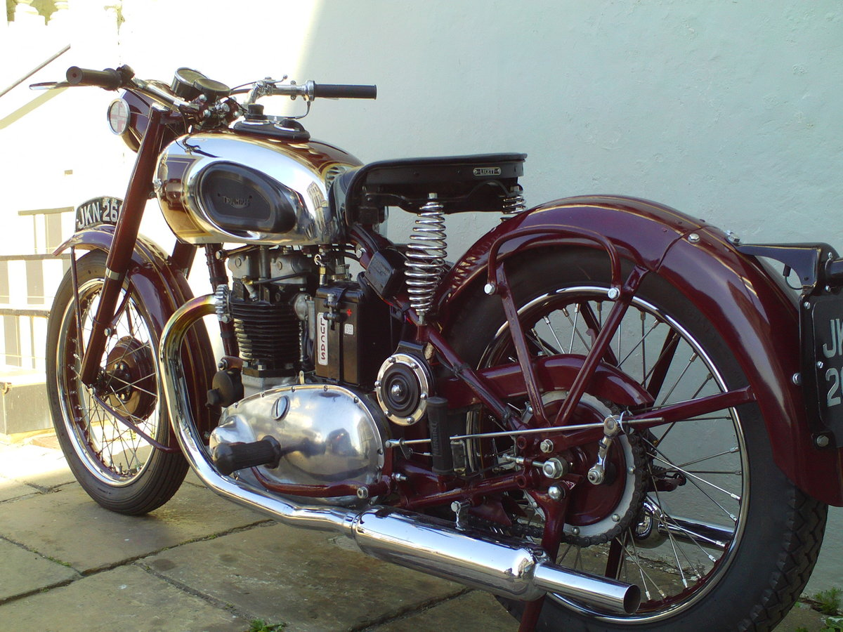1947 TRIUMPH SPEED TWIN 5T For Sale (picture 4 of 6)