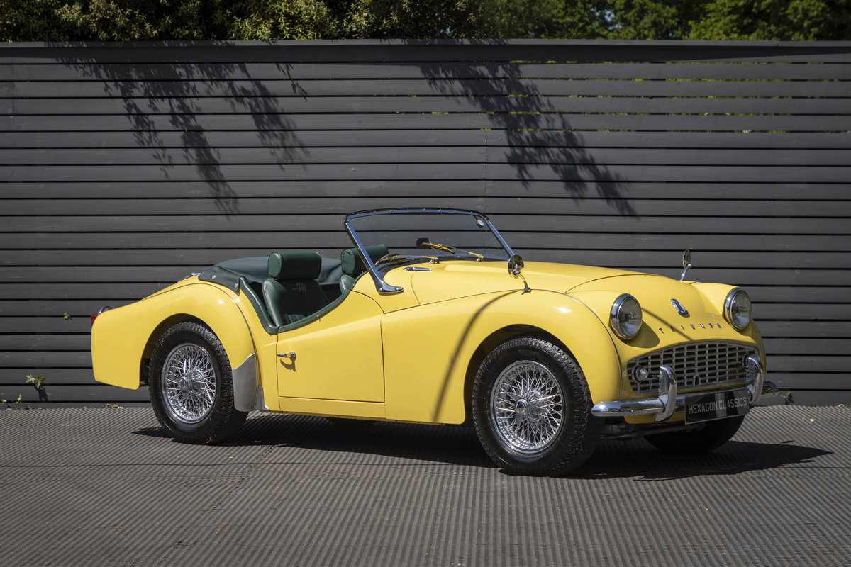 1960 Triumph TR3A Roadster (Rally Specification) Restored SOLD (picture 1 of 6)