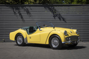 1960 Triumph TR3A Roadster (Rally Specification) Restored SOLD