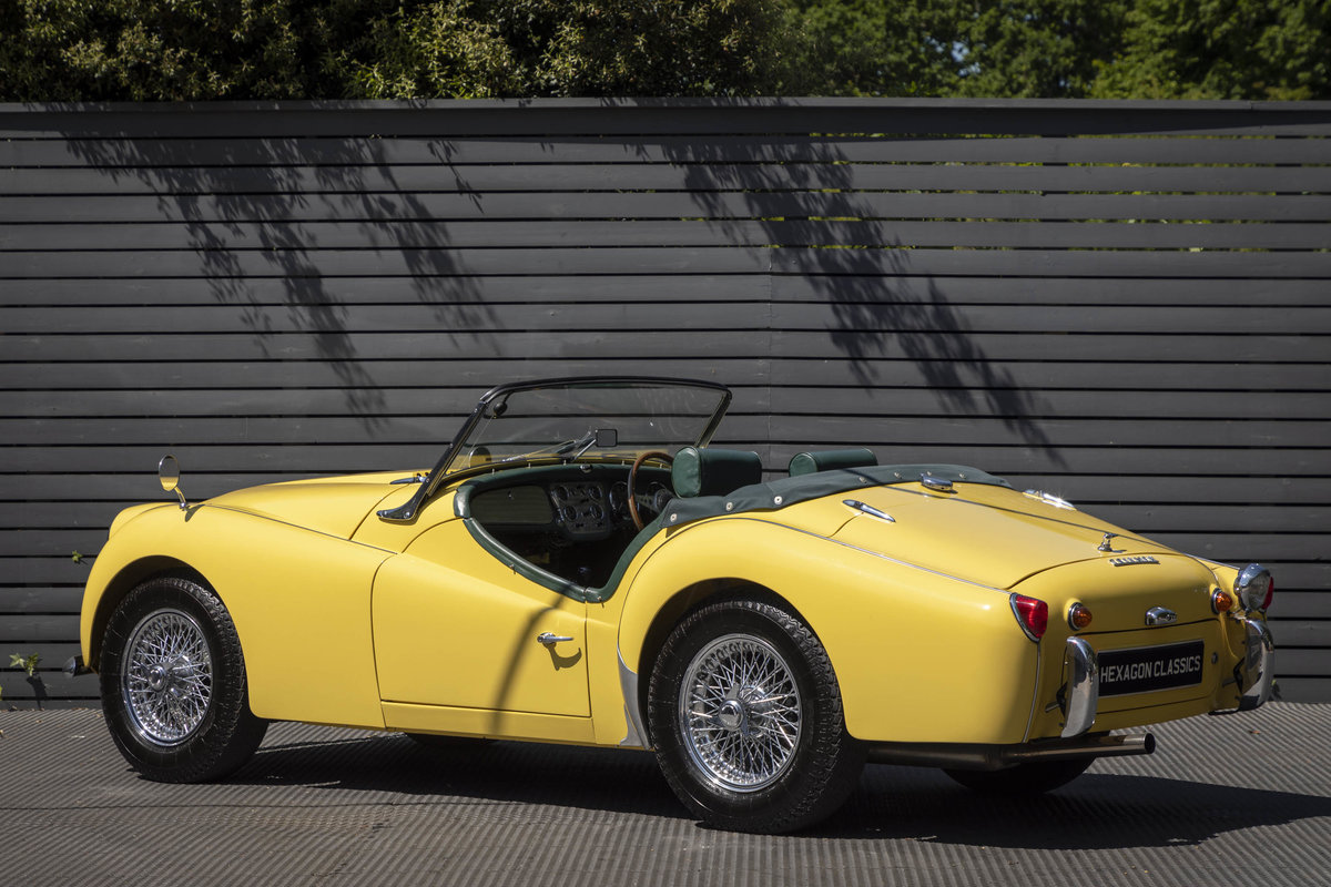 1960 Triumph TR3A Roadster (Rally Specification) Restored SOLD (picture 2 of 6)