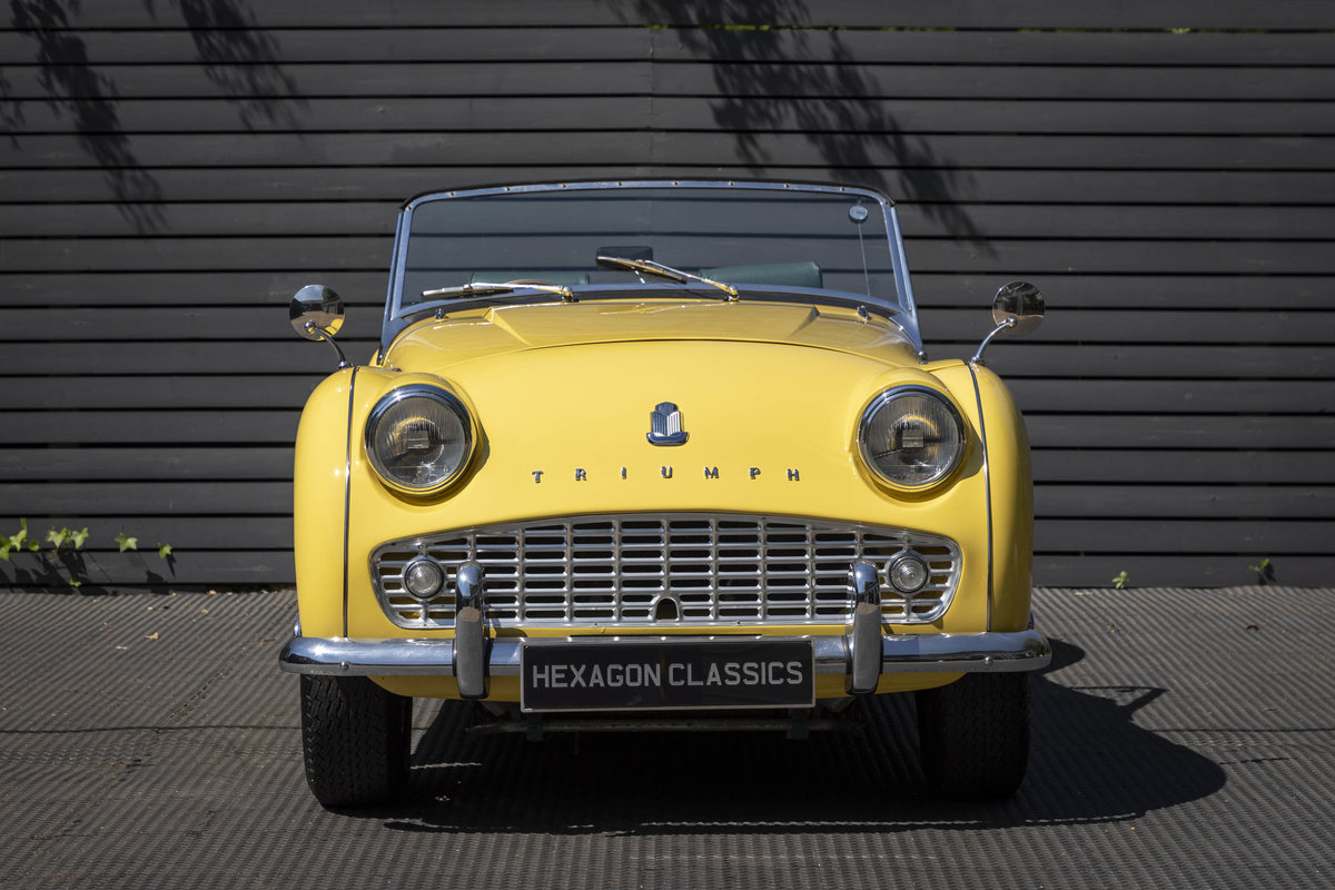 1960 Triumph TR3A Roadster (Rally Specification) Restored SOLD (picture 3 of 6)