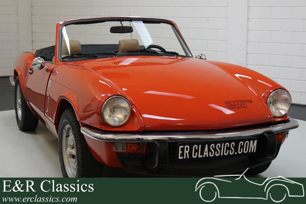 Triumph Spitfire 1500 Cabriolet 1977 Very good condition For Sale (picture 1 of 6)