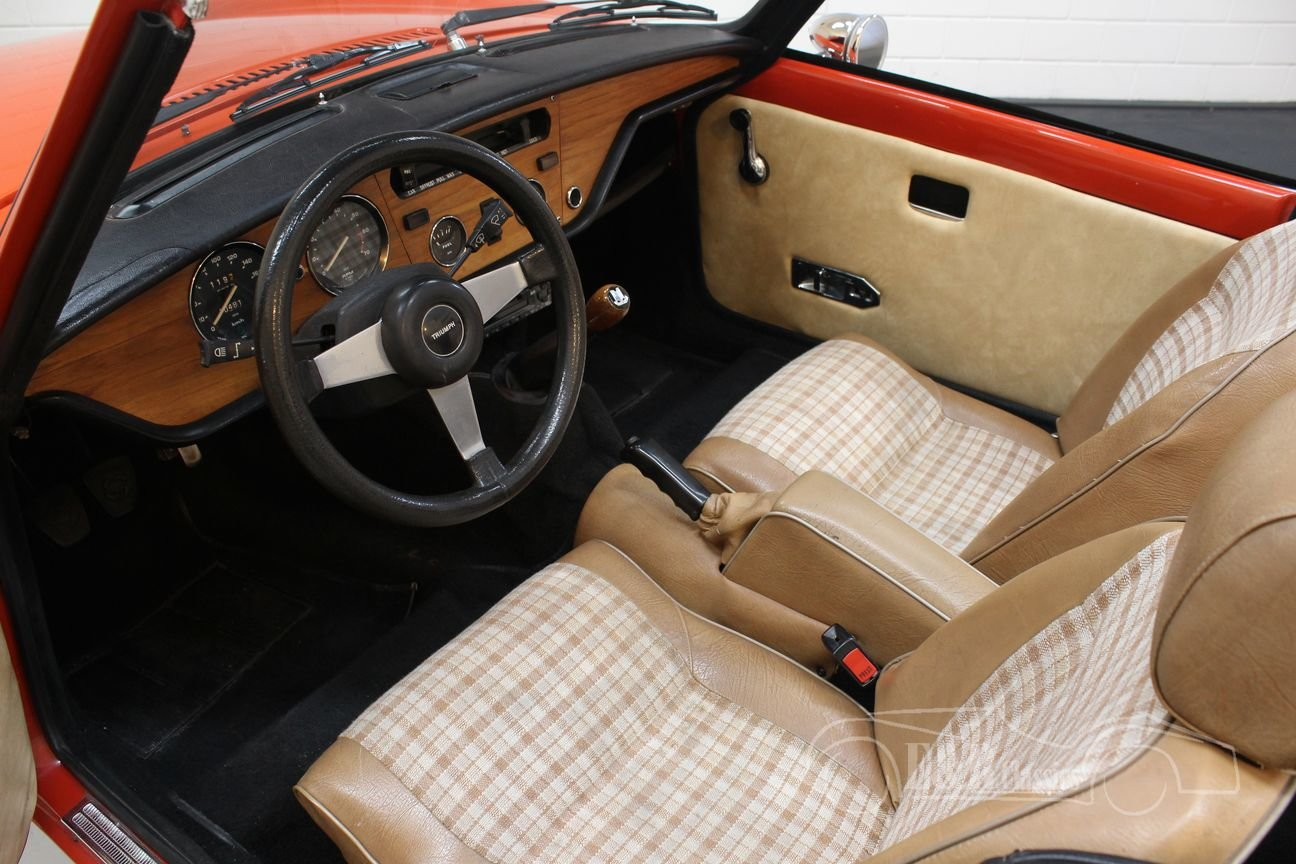 Triumph Spitfire 1500 Cabriolet 1977 Very good condition For Sale (picture 3 of 6)