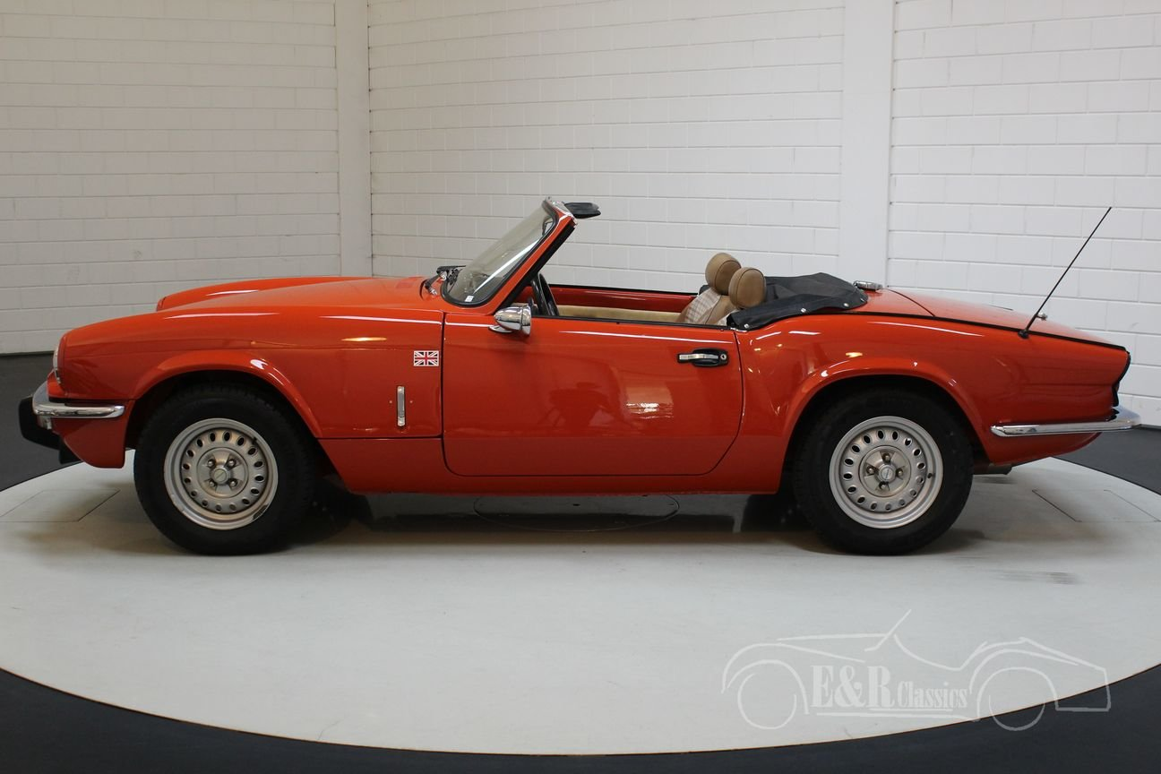 Triumph Spitfire 1500 Cabriolet 1977 Very good condition For Sale (picture 5 of 6)