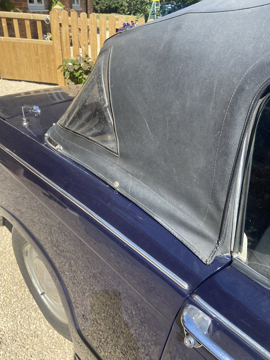 1969 Triumph herald convertible 13/60 For Sale (picture 6 of 6)