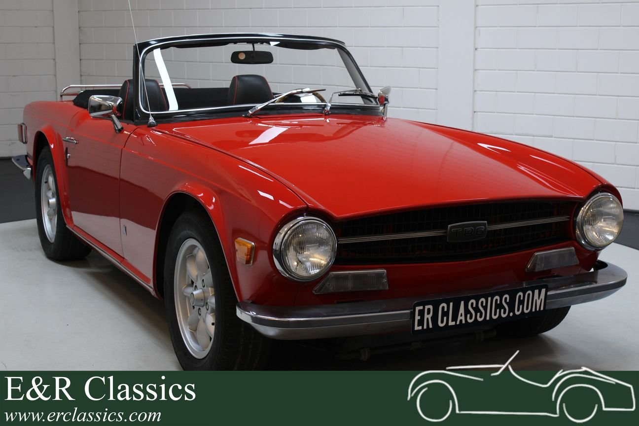 Triumph TR6 Cabriolet 1971 Overdrive For Sale (picture 1 of 6)