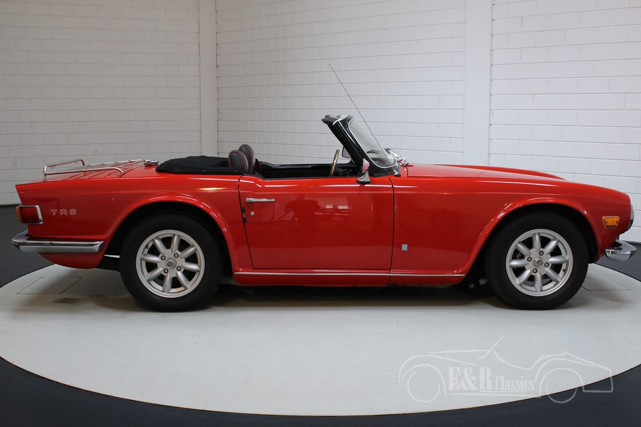 Triumph TR6 Cabriolet 1971 Overdrive For Sale (picture 4 of 6)