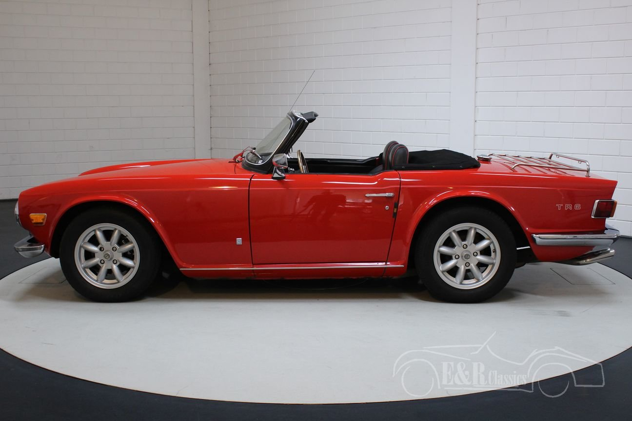 Triumph TR6 Cabriolet 1971 Overdrive For Sale (picture 5 of 6)