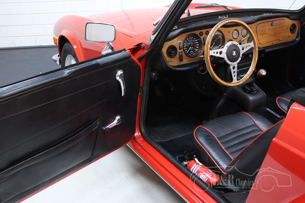 Triumph TR6 Cabriolet 1971 Overdrive For Sale (picture 6 of 6)