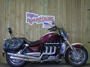 2009 Triumph Rocket 3 Classic, 2 Owners From New Service History