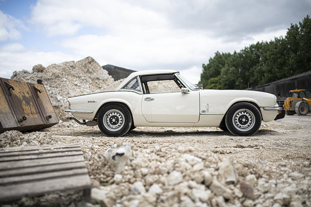 1971 MkIV Triumph Spitfire roadster for hire in Surrey For Hire (picture 1 of 6)