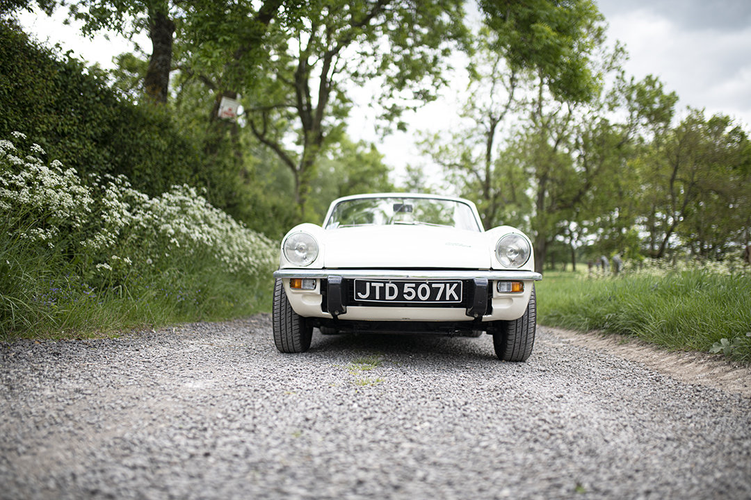 1971 MkIV Triumph Spitfire roadster for hire in Surrey For Hire (picture 3 of 6)