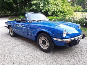 Picture of Triumph Spitfire 1977 bleu  8900 EURO SOLD