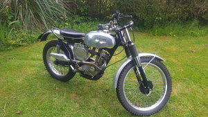 Triumph Tiger Cub in trials trim
