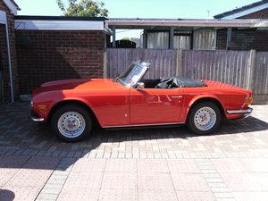 1974 Triumph TR6 42,000 miles For Sale