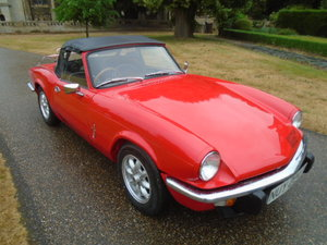 1979 Triumph Spitfire 1500 + Overdrive, new wings x4 + sills For Sale
