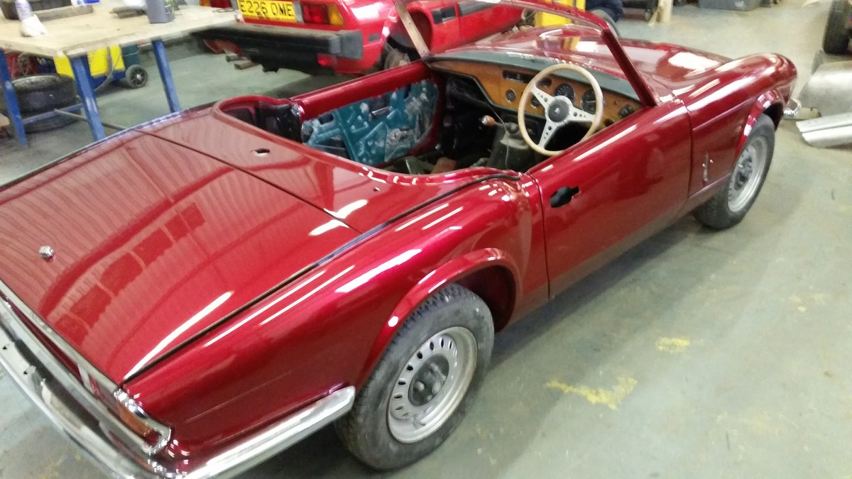 1972 Excellent example mk4 spitfire For Sale (picture 5 of 6)