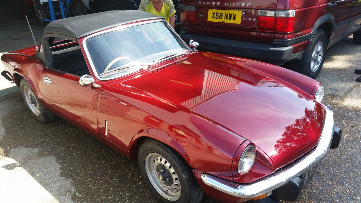 1972 Excellent example mk4 spitfire For Sale (picture 6 of 6)