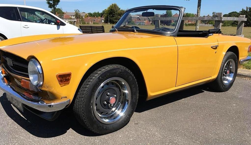 1972 TRIUMPH TR6 2.5 PI For Sale (picture 2 of 6)